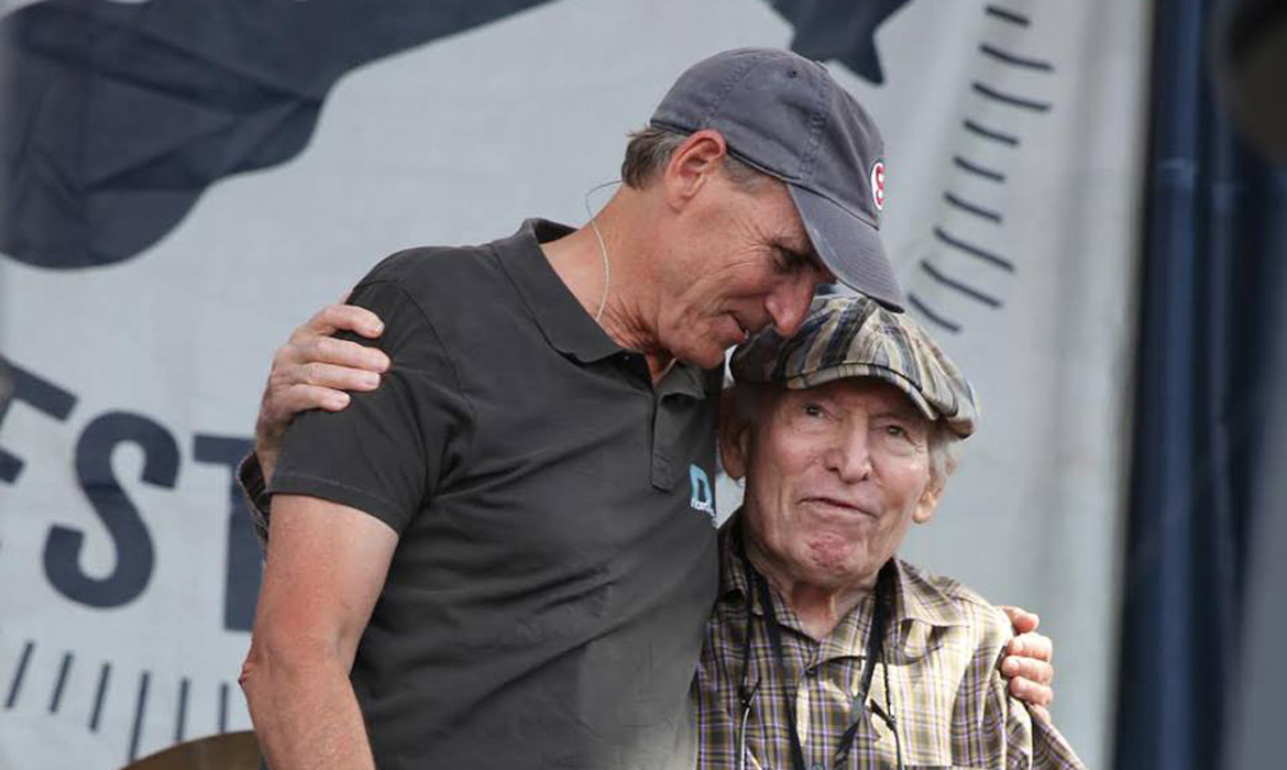 James Taylor and George Wein